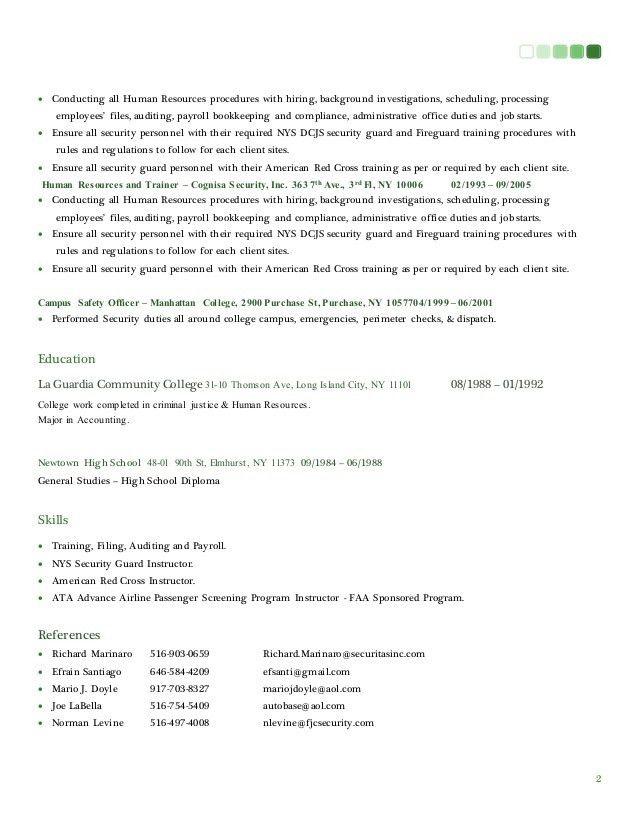 Resume & Cover Letter 2015