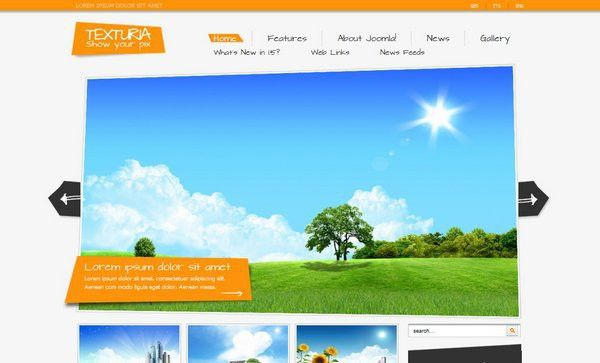 30 Best and Free Joomla Templates | Ginva
