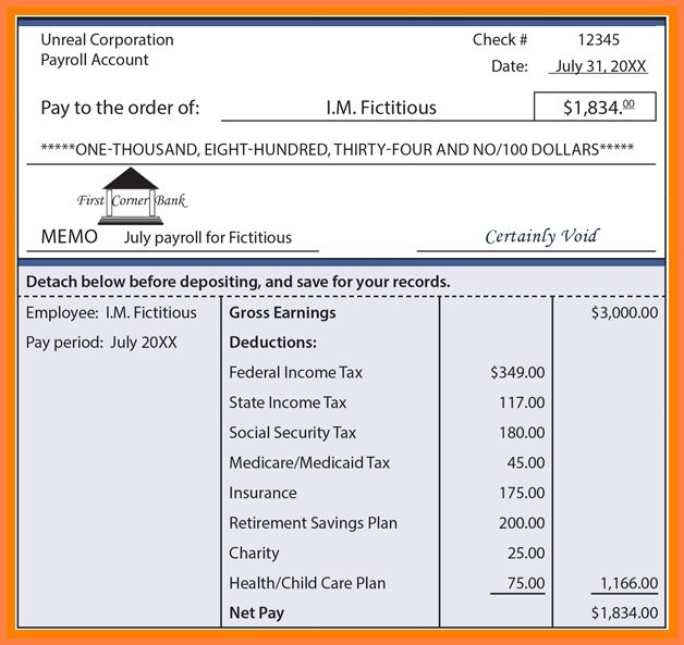 8+ contractor pay stub template | Samples of Paystubs