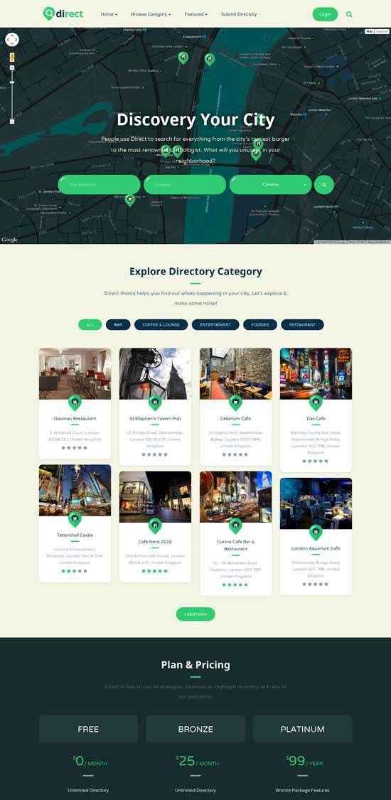 50+ Best Listing & Directory WordPress Themes 2017 - freshDesignweb