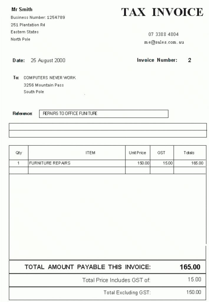 Download Example of a Tax Invoice | rabitah.net
