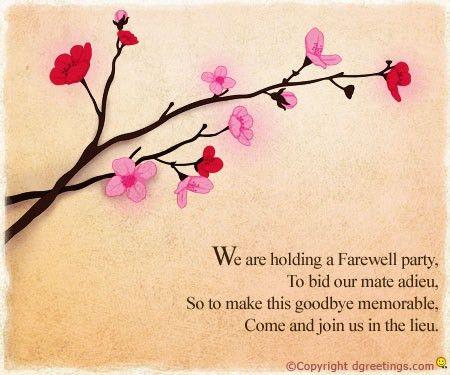 Farewell Lunch Invite | futureclim.info