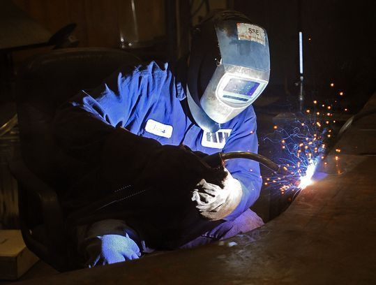 Welding and metal fabrication skills in hot demand