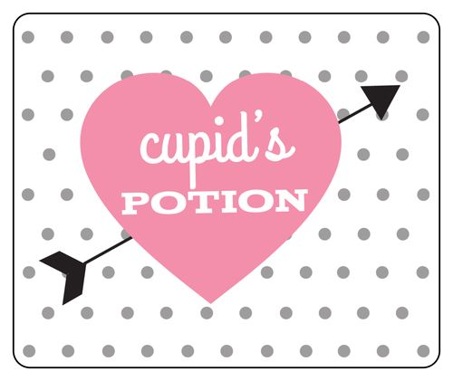Cupid's Potion Free Printable Wine Labels for Valentine's Day ...
