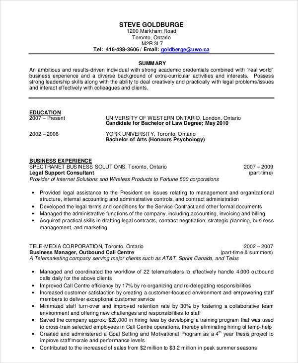 31 Resume Format- Free Word, PDF Documents Download | Free ...