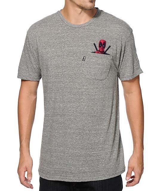 Deadpool Pocket T-Shirt - HypnooGear