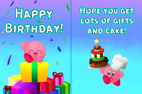 Email Birthday Card – gangcraft.net