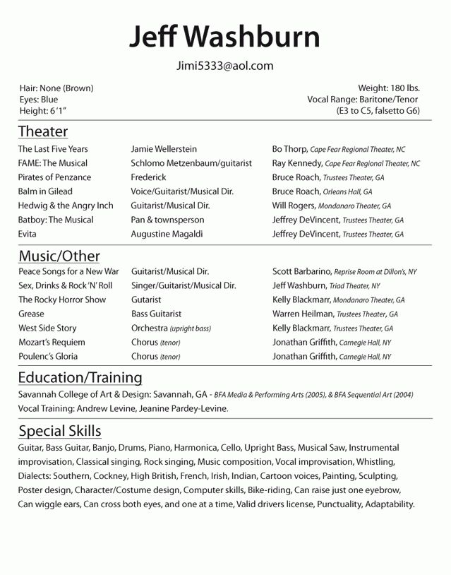 pretty design acting resumes 7 actor resume examples new resume ...