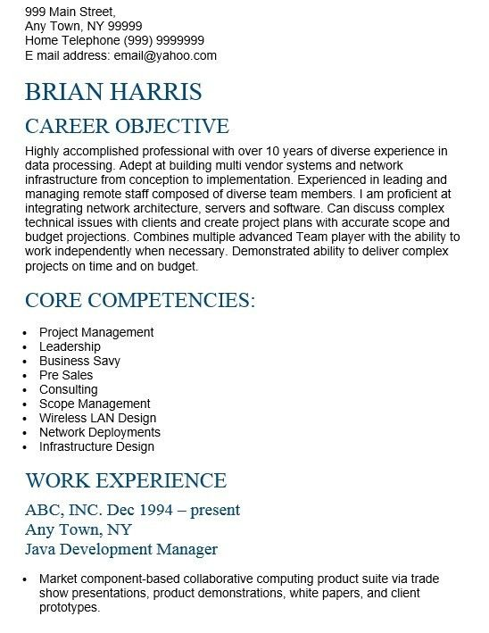 16 Free Sample Senior Architect Resumes – Sample Resumes 2016