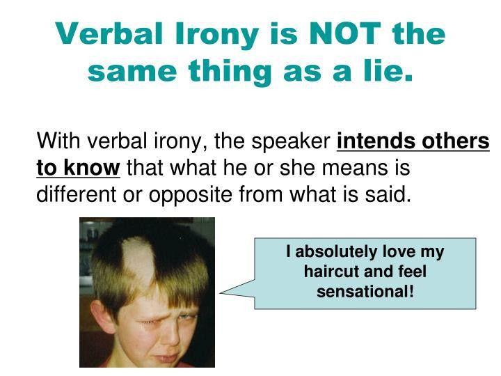 PPT - THREE TYPES OF IRONY PowerPoint Presentation - ID:1060135