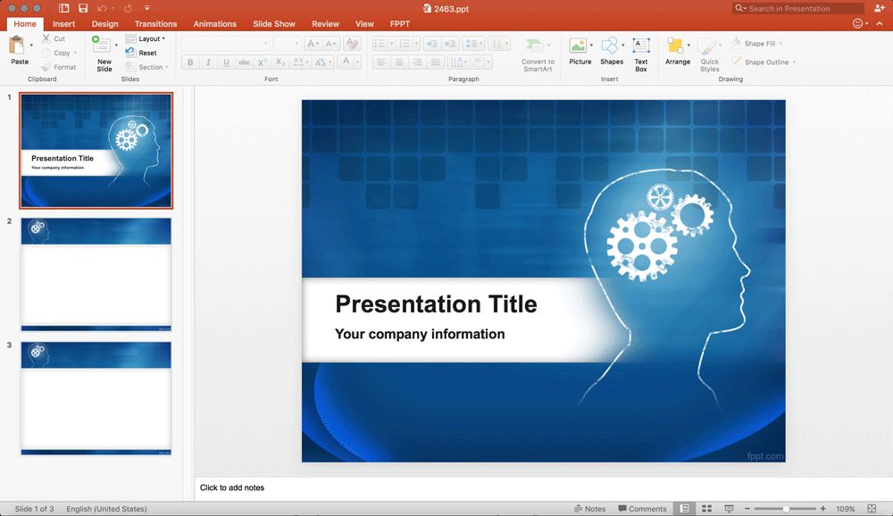 FPPT: The Best Resource to Download Free PowerPoint Templates