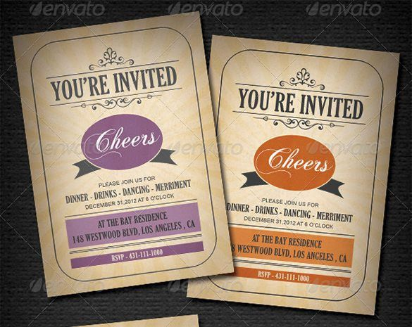 Invitation Card Templates – 20+ Free Printable Word, PDF, PSD, EPS ...