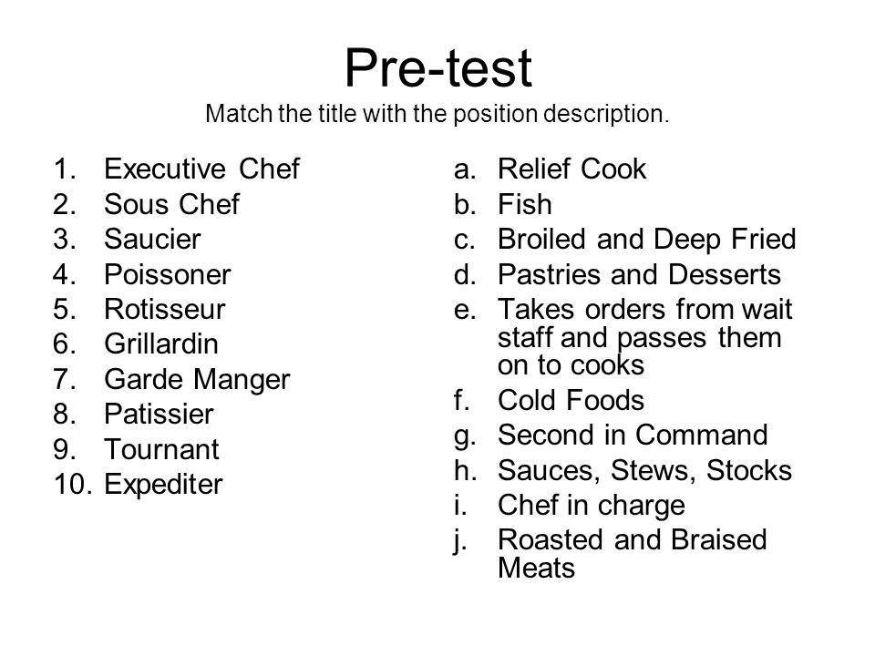 Executive Chef Job Description. Chef Resume 12 Culinary Chefs ...