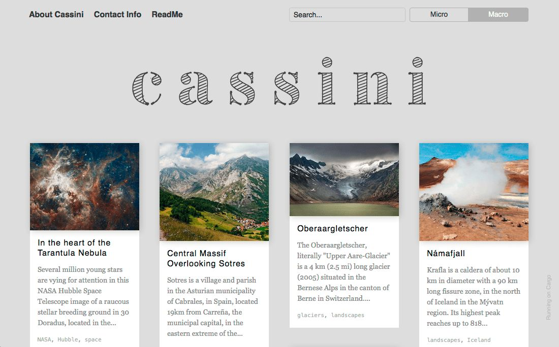 Cargo design template headers - Fonts In Use