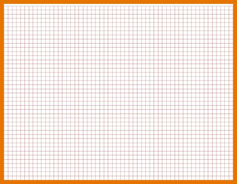 7+ graph paper template | Itinerary Template Sample