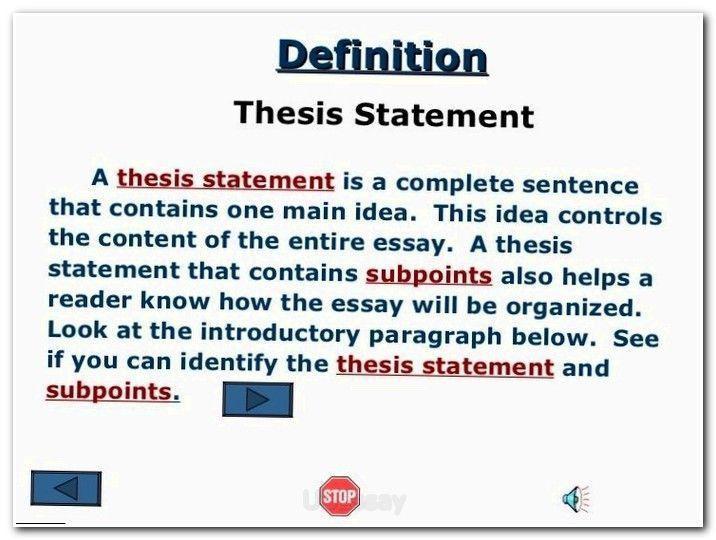 free definition essay