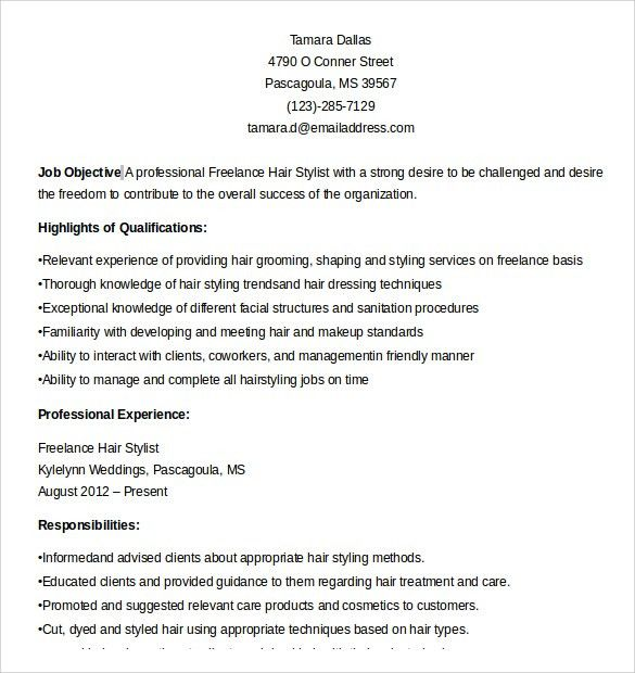 hair stylist resume. choose. hair stylist resume. hair stylist ...