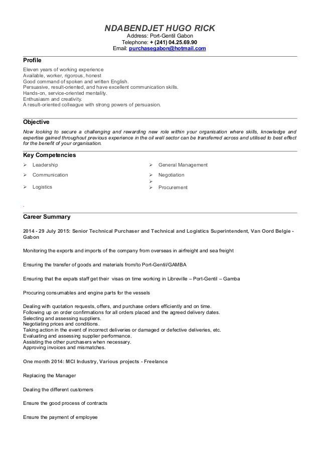 Resume Sample For Career Change - Resume Templates
