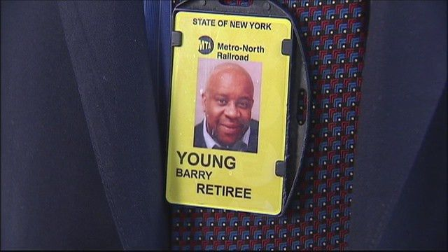 Final ride for retired Metro-North conductor - Story | WNYW