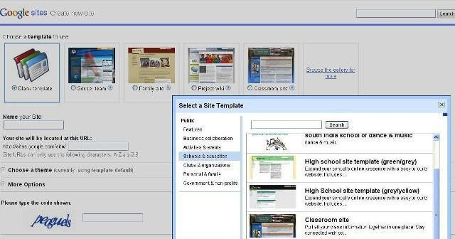 Awesome New Templates in Google Sites! | The Unquiet Library