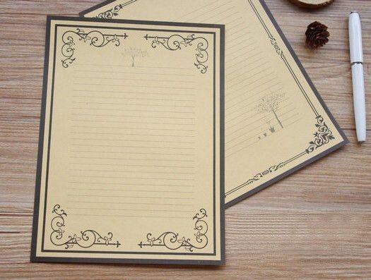 Online Buy Wholesale beautiful writing paper from China beautiful ...