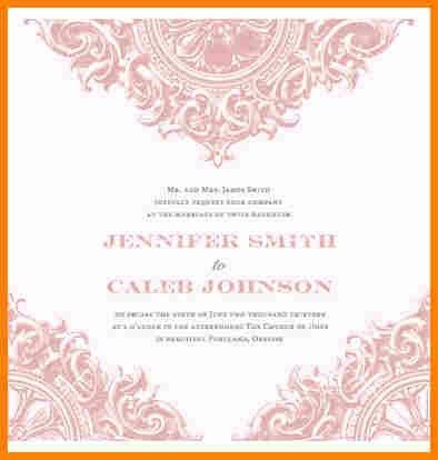 4+ free downloadable invitation templates | budget template