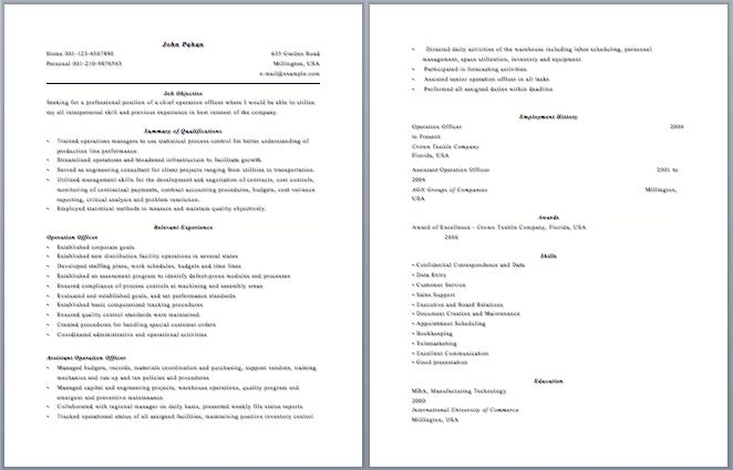sample esthetician resume new graduate #16 | Free Resume Templates
