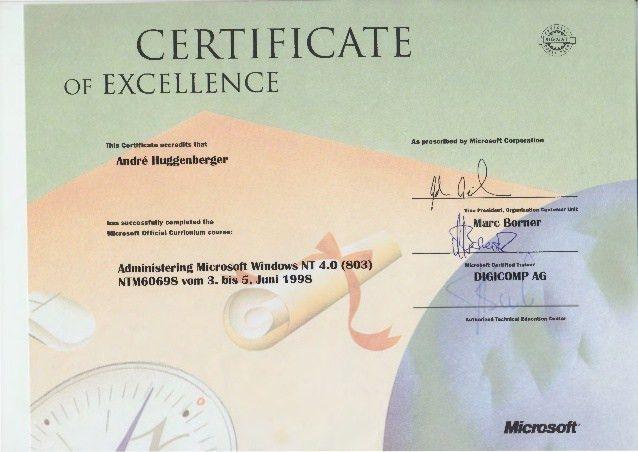 Zertifikate Microsoft