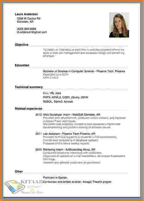 Making Resume [Template.billybullock.us ]