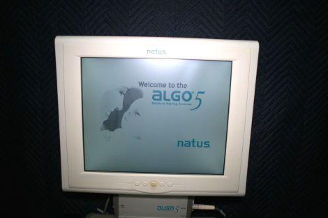 Used NATUS Algo 5 Newborn Hearing Screener Audiometer For Sale ...