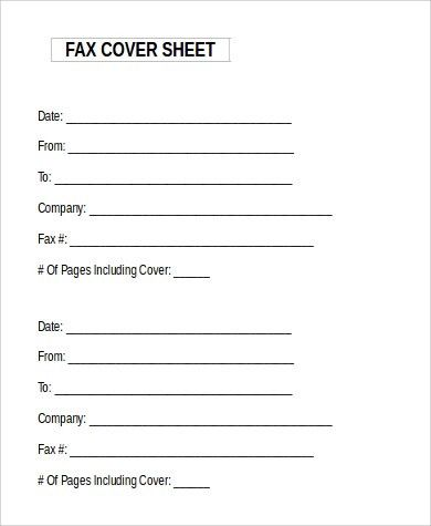 Word Fax Cover Sheet. Medical Institution Fax Cover Sheet Template ...