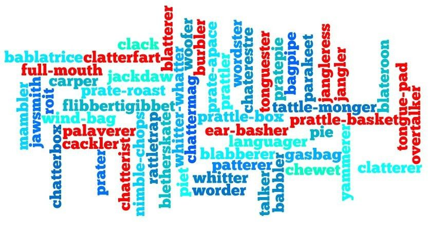 56 synonyms for 'talkative person' | OxfordWords blog