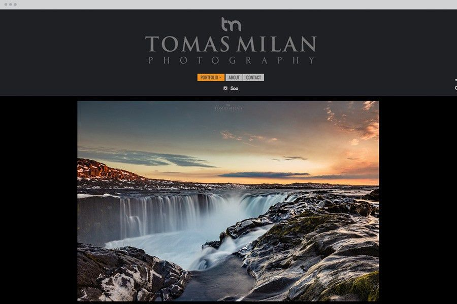 Photography Portfolio Templates | PhotoShelter