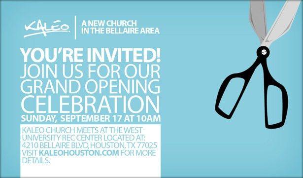 Grand Opening Invitation Card | PaperInvite