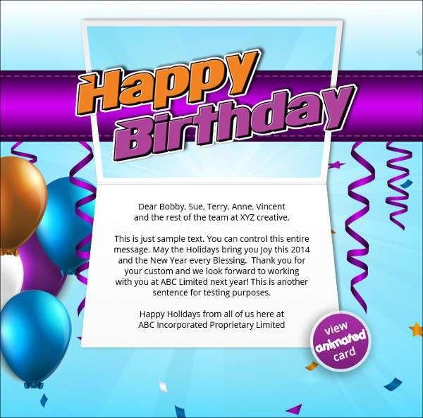 44+ Free Birthday Cards | Free & Premium Templates