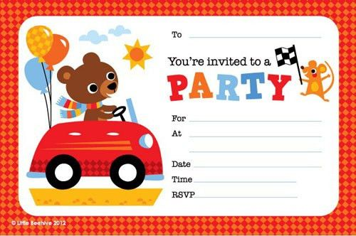Birthday Party Invitation Templates Online Free ...