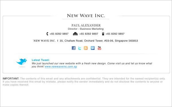 64+ Email Signature Designs Download & Edit Easily! | Free ...
