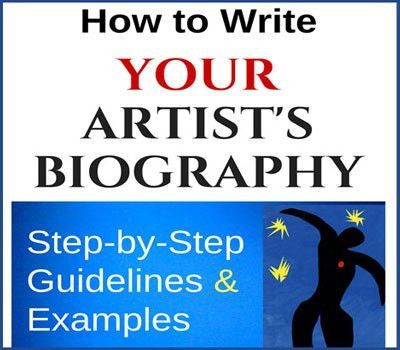 to Write Your Artist's Biography