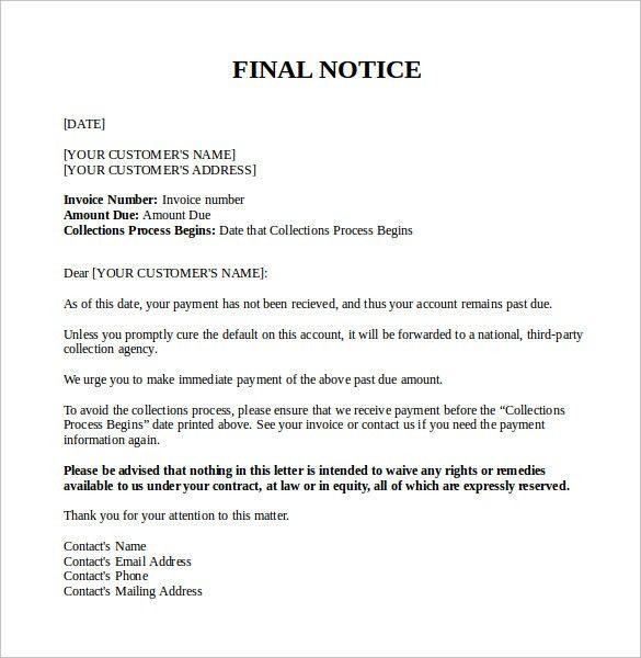 Download Past Due Invoice Letter Template | rabitah.net