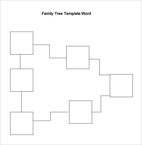 Family Tree Template Google Docs | Template Design
