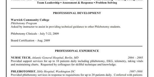 phlebotomist resume example phlebotomy resume sample resume - Phlebotomy Resume Sample