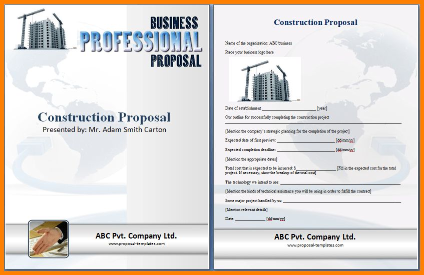 7+ tender proposal template word | resume language