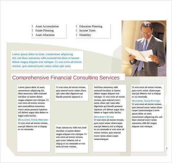 Sample Microsoft Brochure - 6+ Documents in Word