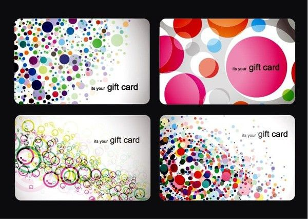 Modern gift card templates free vector download (25,927 Free ...