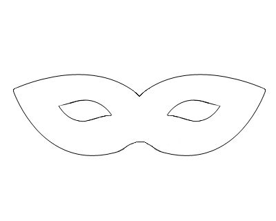 9 Best Images of Half Mask Template - Half Face Mask Template ...