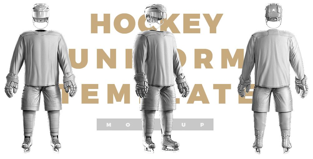Ice Hockey Uniform Template