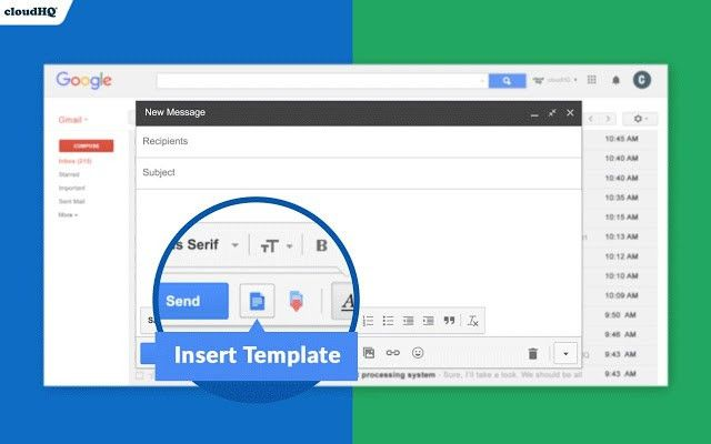 Gmail™ Email Templates - Chrome Web Store