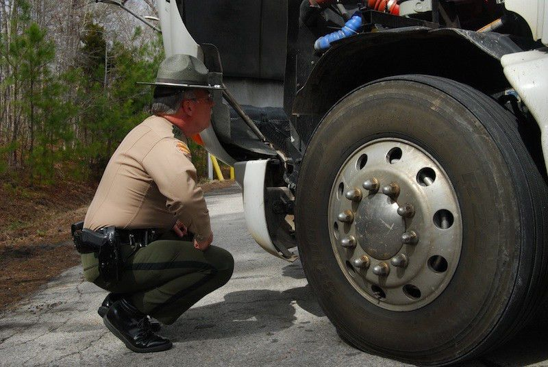 Annual brake inspection blitz this week