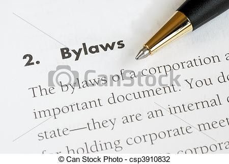 Stock Photo of Bylaws of a corporation - Definition of the bylaws ...