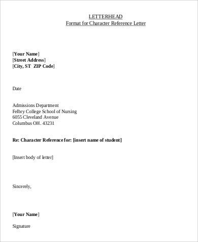 Sample Professional Letterhead - 7+ Examples in PDF